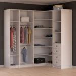 размеры углового шкафа для одежды